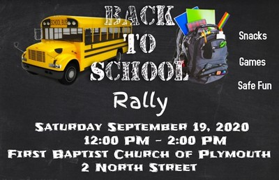 first-baptist-church-of-plymouth-to-celebrate-back-to-school-with-rally