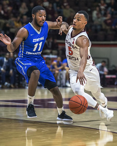 ccsu-mens-basketball-routed-on-road-against-no-13-virginia-tech
