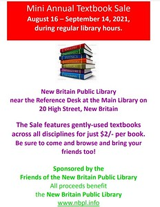 friends-of-the-new-britain-public-library-will-host-mini-textbook-sale