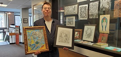 artists-exhibition-at-new-britain-library-also-includes-books-gaming-items