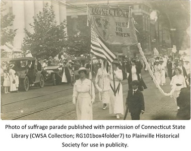 new-plainville-historical-society-virtual-exhibit-highlights-100th-anniversary-of-women-gaining-right-to-vote