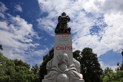 christopher-columbus-statue-near-connecticut-capitol-removed