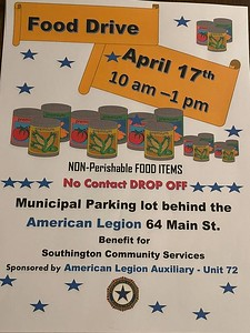 southington-american-legion-kiltonic-post-72-ladies-auxiliary-will-hold-food-collection-drive-saturday