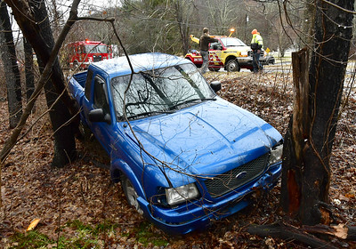 truck-leaves-road-in-plymouth-strikes-tree