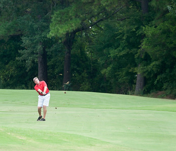 John Carlton of Tyler drives the ball down the fairway on the 1st hole during the Men's Club Championship at Hollytree Country Club Friday Aug. 21.   (Sarah A. Miller/Tyler Morning Telegraph)