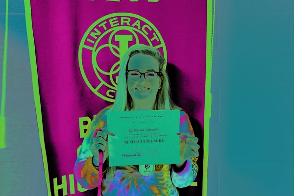 Submitted by Bristol Central High School Katherine Plourde, a Latin II student at Bristol Central High School, earned a perfect score on the Connecticut State Latin Exam.
